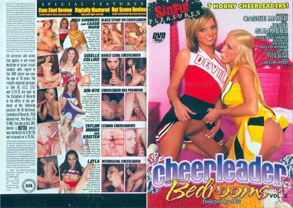 CHEERLEADER BEDROOMS 2 DVD - 4 HOURS! DSP235 - $3.49