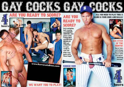GAY DVDs :: GAY COCKS DVD - 4 HOURS! - $2.99