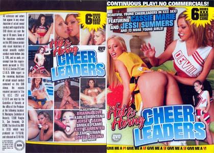 HOT & HORNY CHEERLEADERS DVD - 6 HOURS!  D136  -  $3.49