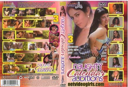 NAUGHTY CALENDAR AUDITIONS 1 DVD  -  $2.99