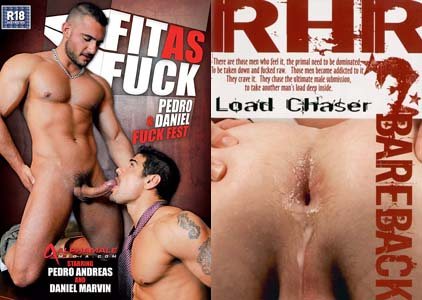 FIT AS FUCK + LOAD CHASER DVD  -  $3.49  -  DVD ONLY!