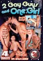 2 GAY GUYS AND ONE GIRL DVD - 4 HOURS!  -  $2.99