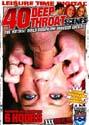 40 DEEP THROAT SCENES DVD - 6 HOURS!  D739  -  $3.49
