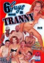 6 GUYS AND A TRANNY DVD  -  $3.49
