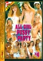ALL GIRL PUSSY PARTY 4 DVD  -  $3.59