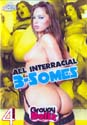 ALL INTERRACIAL 3-SOMES DVD  -  4 HOURS!  -  $2.69