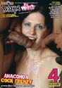 ANACONDA COCK FRENZY DVD  -  4 HOURS!  -  $2.79