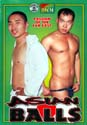 ASIAN BALLS DVD  -  $6.99  -  GAY USED DVD!