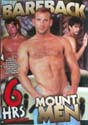 BAREBACK MOUNT MEN DVD  -  6 HOURS!  -  $2.79  BM-6G001