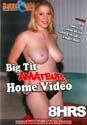 BIG TIT AMATEUR HOME VIDEO DVD  -  8 HOURS!  -  $2.89