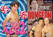 CANDY ASS 2 + DUNGEON DVD  -  BAREBACK  -  $6.99  -  DVD ONLY!