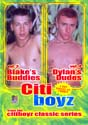 BLAKE'S BUDDIES 3 & DYLAN'S DUDES 4 DVD  -  2 MOVIES ON 1 DVD!  -  $16.99  -  GAY USED DVD!