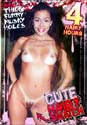 CUTE HAIRY SNATCH DVD - 4 HOURS!  -  $2.49