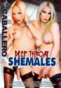DEEP THROAT SHEMALES DVD  -  $3.49
