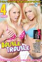 DOUBLE TROUBLE DVD  -  2 GIRLS on 1 GUY!  -  4 HOURS!  -  $2.69
