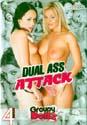 DUAL ASS ATTACK DVD  -  4 HOURS!  -  $2.69