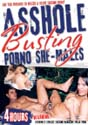 ASSHOLE BUSTING PORNO SHE-MALES DVD  -  4 HOURS!  -  $3.49