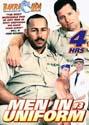 MEN IN UNIFORM 3 DVD - 4 HOURS!  -  $3.49