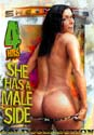 SHE HAS A MALE SIDE DVD - 4 HOURS!  -  $2.99