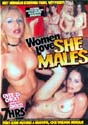 WOMEN LOVE SHEMALES DVD - 7 HOURS!  DXE705  -  $3.79