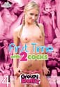 FIRST TIME WITH 2 COCKS DVD  -  4 HOURS!  -  $2.69