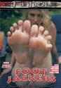 FOOT JACKERS DVD  -  FOOT FETISH  -  $2.79