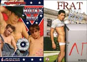 FRAT BOY RUSH + HICKS WITH DICKS DVD  -  $6.99  -  DVD ONLY!