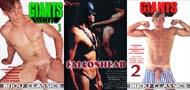 GIANTS 1 + GIANTS 2 + FALCONHEAD DVD  -  $6.99  -  DVD ONLY!