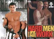 HARD MEN AT WORK + GLADIATOR DVD  -  $1.99  -  DVD ONLY!