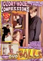 GLORY HOLE CONFESSIONS DVD - 5 HOURS!  -  $2.49
