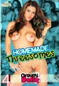 HOMEMADE THREESOMES DVD  -  4 HOURS!  -  $2.69