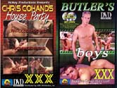 HOUSE PARTY + BUTLER'S BOYS DVD  -  BAREBACK  -  $4.49  -  DVD ONLY!