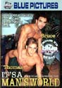 IT'S A MAN'S WORLD DVD  -  BRAZILIAN BOYS  -  $3.59