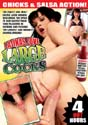 LATINAS LOVE LARGE COCKS DVD  -  4 HOURS!  -  $1.99