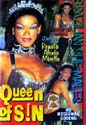QUEEN OF SIN DVD  -  $2.49