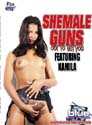 SHEMALE GUNS OUT TO GET YOU DVD  -  $3.49