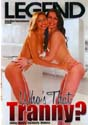 WHO'S THAT TRANNY? DVD  -  $3.49